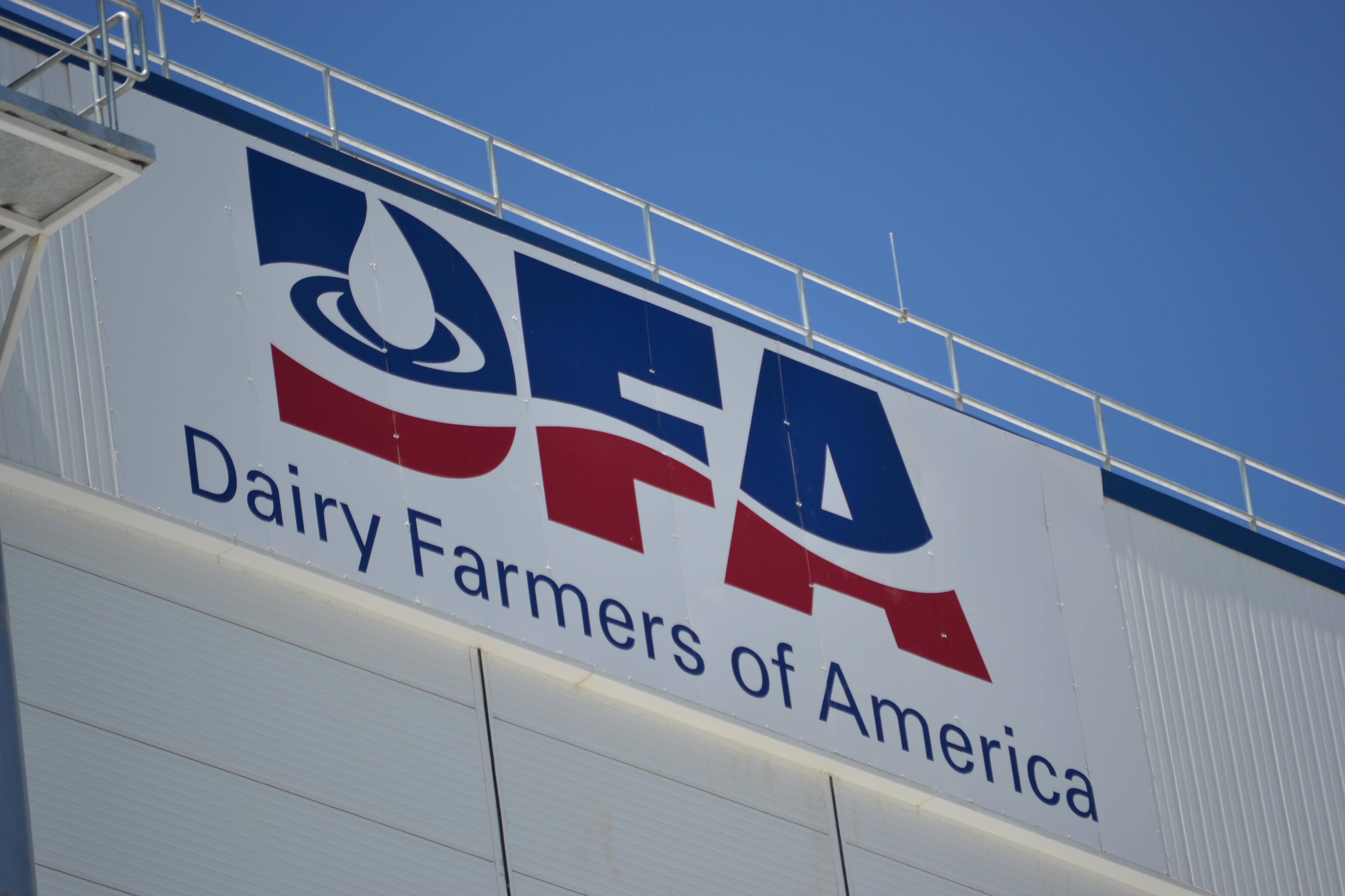 construction almost complete on garden dairy plant dairy in kansas